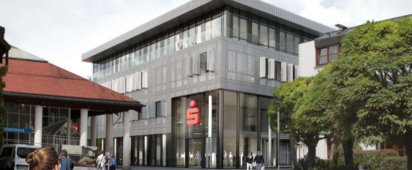 Sparkasse Erding bank building 2020-2021 Elektroinstallation – value 242.000 €