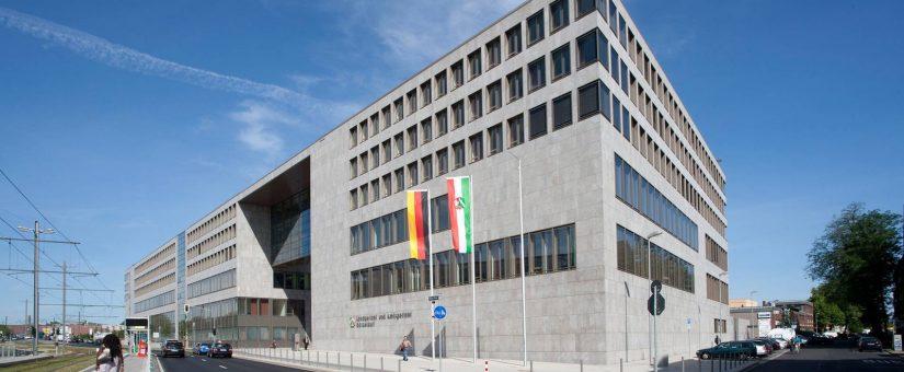 Landgericht Düsseldorf - Trockebauarbeiten - 2009 / 142.000 EUR / ściany i sufity GK - Sąd Krajowy w Düsseldorfie
